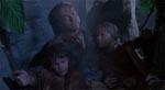 Grant lærer at holde af børn - én af filmens lettere kvalme moraler