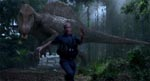 En meget stor og meget sur dinosaurus
