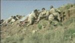 Englændere og beduiner gør sig klar til angreb.