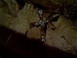 Sølvkrucifikset, som har bundet Wandessa til hendes grav i mange hundrede af år, lige før Genevieve, får den smarte ide at fjerne det.