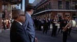 En jazzbegravelse i filmens indledning