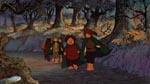 Hobbitterne på vejen - bemærk hvor grim Sam er