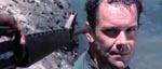 Kaptajn Morris (David Warbeck) er lige landet i junglen
