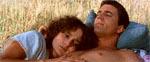 Max og Jessie (Joanne Samuel) i en rolig stund