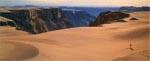 Børnenes dal set fra ørkenen - det er ikke flotte billeder, det skorter på i 'Beyond Thunderdome'