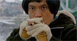 Manden med pusterøret - fra filmens indledning.