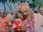 Amerikanske turister på Hawaii - et eksempel på genbrug fra den første film