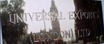 Universal Exports - skuffefirmaet, der fungerer som Bonds dække i de fleste af filmene og bøgerne