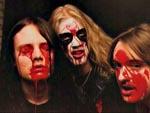 Et af de klassiske Mayhem-bandfotos, hvor Pelle 'Dead' Ohlin er med