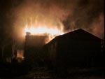 En brændende kirke som det så ud i de norske nyheder, og lige pludselig var verden ikke mere den samme