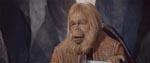 Dr. Zaius (Maurice Evans).