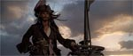 Kaptajn Jack Sparrow (Johnny Depp), som vi møder ham første gang.