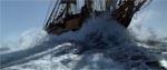 Ingen sørøverfilm er naturligvis fuldendt uden nogle gode sekvenser til søs, og dem er der også mange af i 'Pirates of the Caribbean'.