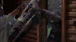 Professor Lovecraft i nærkamp med en Pterodactyl