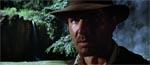 Indiana Jones med en barsk mine ved filmens begyndelse