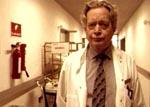 Dr. Helmer er mildest talt ikke glad for forholdene på Riget