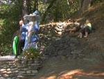 Fra Hobbitten-forlystelsespark et sted i USA - frygteligt makværk