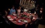 Den famøse middagsscene, hvor alle vores hovedpersoner er samlet