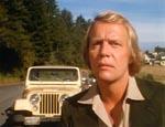 Ben Mears (David Soul) lige efter, han er vendt tilbage til Salem's Lot.
