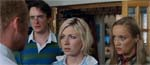 Liz og hendes samboer, den irriterende David (Dylan Moran) og hans labre kæreste Di (Lucy Davis).