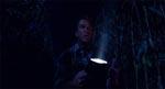 Graham har en skræmmende oplevelse i majsmarken - én af filmens virkeligt uhyggelige scener