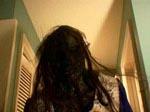 Zombie-spøgelset med vind i håret