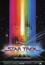 Den originale filmplakat for 'Star Trek: The Motion Picture'.