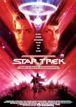 Den originale filmplakat for 'Star Trek V: The Final Frontier'.