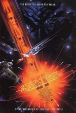 Den originale filmplakat for 'Star Trek VI: The Undiscovered Country'.