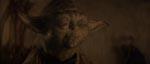 Den ærværdige Jedimester Yoda (stemme af Frank Oz).