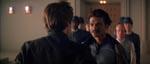 Han Solo møder sin gamle kammesjuk Lando Calrissian (Billy Dee Williams).