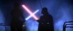 Det første møde mellem Darth Vader og Luke Skywalker.