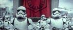 Nazi-referencerne er mange i 'The Force Awakens' - her stormtroopere ved en Nürnberg-lignende tale, holdt af First Order-generalen Hux.