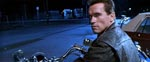'Bad to the Bone'... Arnie-Terminatoren er lige ankommet fra fremtiden.