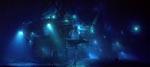 Eksempel på filmens mange ufatteligt smukke undervandsscener, her dykkernes hjem Deepcore