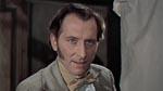 'Oh, I'll get it..' siger Frankenstein med henvisning til en hjerne til sin skabning. Bemærk Cushings vidunderligt vanvittige ansigtsudtryk!