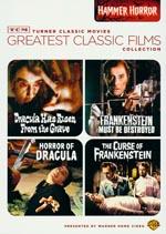 'Hammer Horror'-boksen, der bl.a. indeholder 'The Curse of Frankenstein'