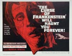 Original plakat til 'The Curse of Frankenstein'