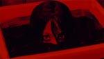 En af de mere opfindsomme måder, Kayako dukker op på i 2'eren - fra et fotografi, der ligger i fremkaldervæsken.