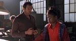 Ian Malcolm (Jeff Goldblum) og hans (sorte!) datter - et eksempel på latterlig leflen for politisk korrekthed