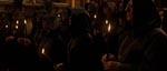En satanisk messe, som Corso sniger sig ind til på et chateau i Frankrig