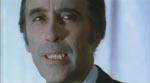 Christopher Lee i rollen som Hammers Dracula for sidste gang