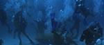 Fra den spektakulære og kaotiske undervandskamp under filmens klimaks