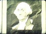 Mrs. Hammonds spionhuller er øjnene i dette George Washington-portræt - gad vide om det mon symboliserer noget?