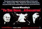 Original plakat til 'To the Devil a Daughter'