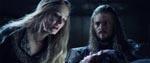 Éowyn og Éomer ved Théodreds dødsleje
