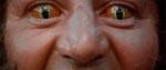 Varulven med flotte kontaktlinser