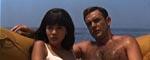 Bond og en ny dame, Kissy Suzuki (Mie Hama) - endnu en Bond-film slutter til søs