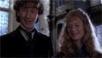 Den unge Holmes (Nicholas Rowe) og hans kæreste Elizabeth (Sophie Ward).