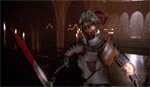 Glasridderen - den første helt computeranimerede karakter i en film nogensinde.